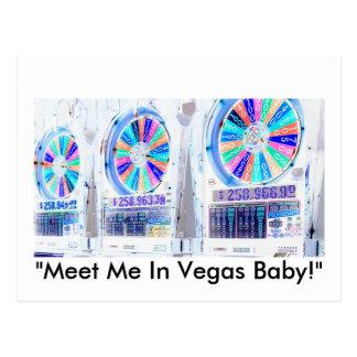 Entalhes de Las Vegas Cartão Postal