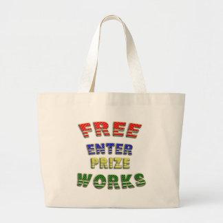 Enterprize livre trabalha as bolsas