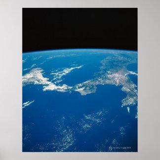 Enterre de um satélite 4 poster