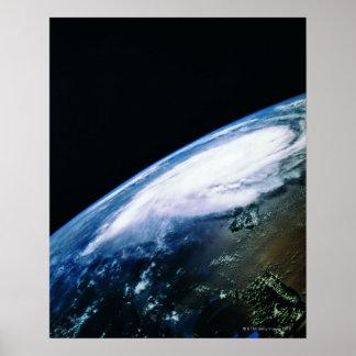 Enterre do satélite 2 impressão