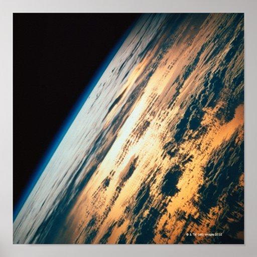 Enterre do satélite 5 pôsteres