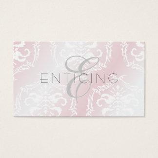 Enticingly rosa 311 cartão de visitas