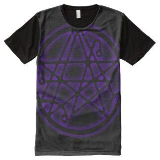 Entrada antiga de Necronomicon Magick Camisetas Com Impressão Frontal Completa