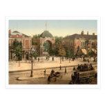 Entrada Copenhaga do parque de Tivoli Cartão Postal