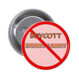 Entrada do passatempo do boicote bóton redondo 5.08cm