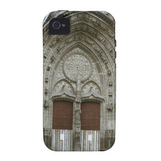 Entrada ornamentado da arcada com antiquado capa para iPhone 4/4S