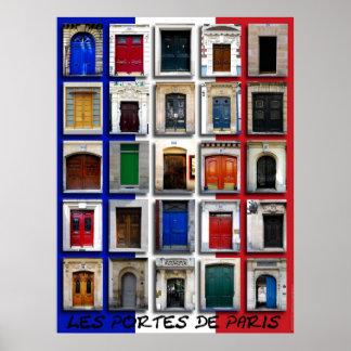 Entradas de Paris Pôster