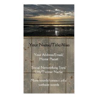 Entre os mundos cartão de visita