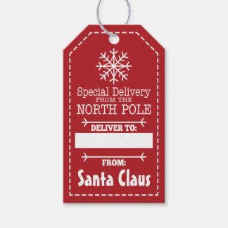 Entrega especial do Pólo Norte e do Papai Noel