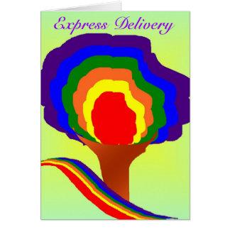 Entrega expressa - pode seu… cartão ideal