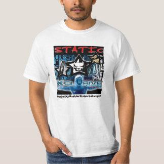 "Entretenimento ""estática "" de Xclusive Camiseta"