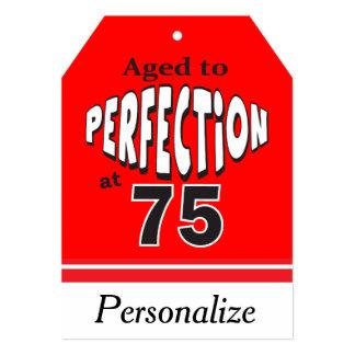 Envelhecido à perfeição em 75
