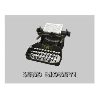 Envie o dinheiro! Cartão
