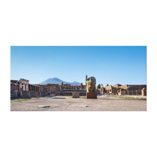 Envoltório das canvas - fórum romano - Pompeii