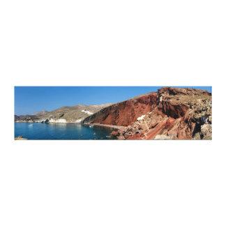 Envoltório das canvas - praia vermelha de
