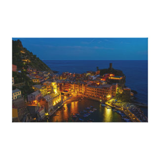 Envoltório das canvas - Vernazza, Italia no