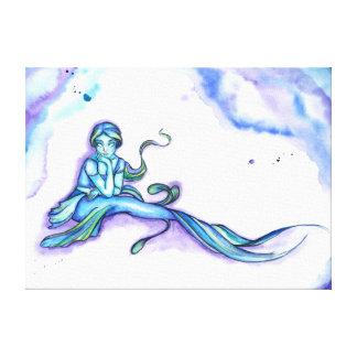 """""""Envoltório de assento das canvas da sereia azul"""""""