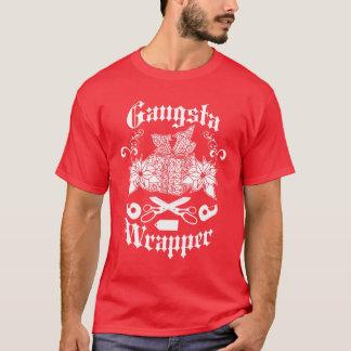 Envoltório de Gangsta - camisa engraçada do Natal