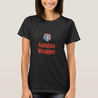 Envoltório de Gangsta do Natal Camiseta