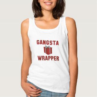 Envoltório de Gangsta Regata