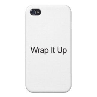 Envolva-o acima capa iPhone 4