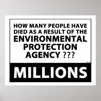 EPA mata milhões Pôster