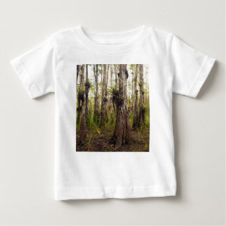 Epiphyte Bromeliad na floresta de Florida Camiseta Para Bebê