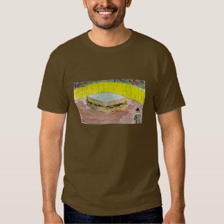 Épocas magras no t-shirt de Rumpton em cores