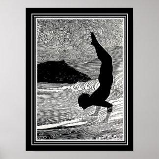 """Equilíbrio"" 12 x 16 poster CA 1930"