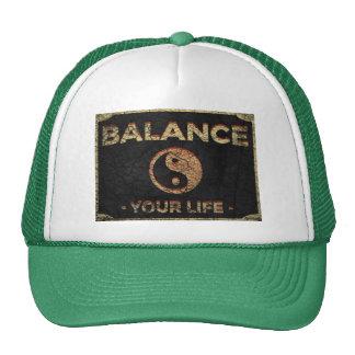 Equilíbrio de Yin Yang Boné