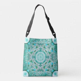 Equilíbrio do saco cura da mandala da natureza bolsas carteiro