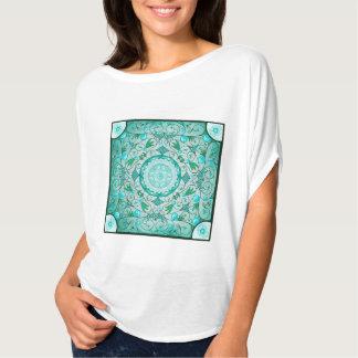 Equilíbrio do T cura da mandala da natureza Camiseta