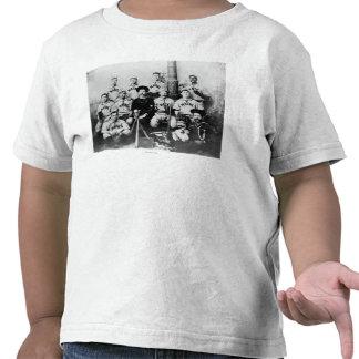 Equipa de beisebol de USS Maine em Havana Cuba T-shirt