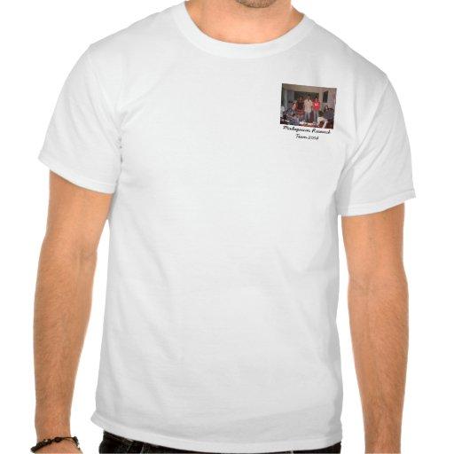 equipa de investigação 2004 de madagascar t-shirts
