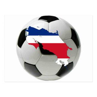 Equipa nacional de Costa Rica Cartão Postal