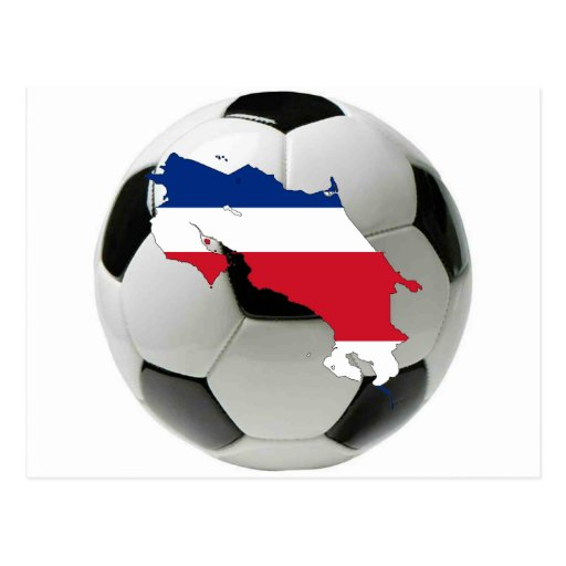 Equipa nacional de Costa Rica Cartões Postais