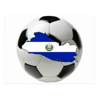 Equipa nacional de El Salvador Cartão Postal