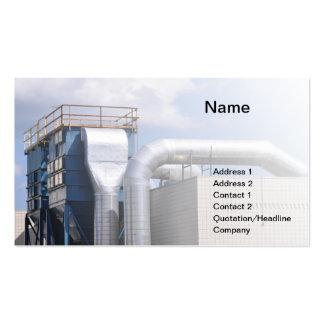 equipamento da ATAC ou de refrigeração Cartão De Visita