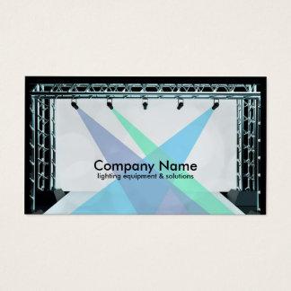 Equipamento de iluminação & cartão de visita das