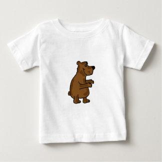 Equipamento engraçado do bebê dos desenhos camisetas