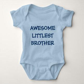 Equipamento IMPRESSIONANTE do bebê azul de IRMÃO O Body Para Bebê