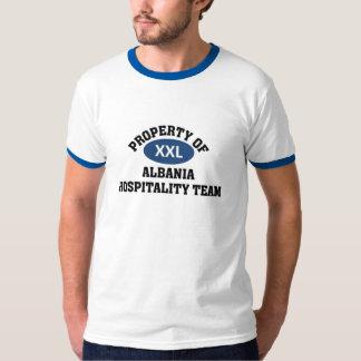 Equipe da hospitalidade de Albânia Tshirts