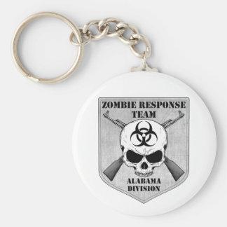 Equipe da resposta do zombi Divisão de Alabama Chaveiros