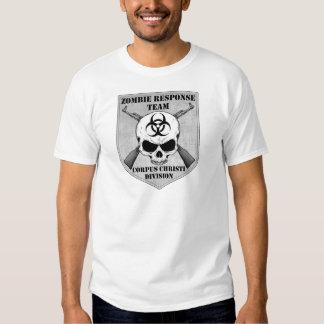 Equipe da resposta do zombi: Divisão de Corpus T-shirt