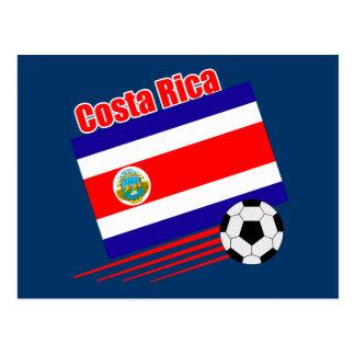 Equipe de futebol de Costa Rica Cartões Postais