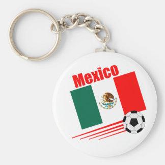 Equipe de futebol mexicana chaveiro