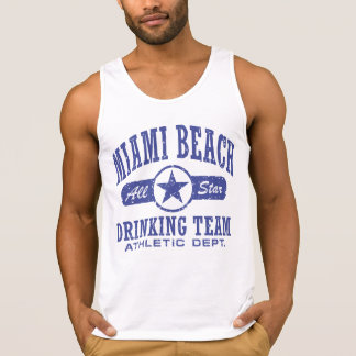 Equipe do bebendo de Miami Beach