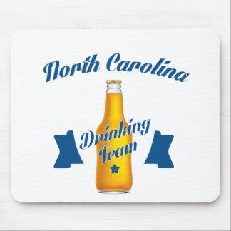 Equipe do bebendo de North Carolina Mouse Pad