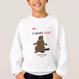 Equipe do castor de Canadá 150 em 2017 Agasalho