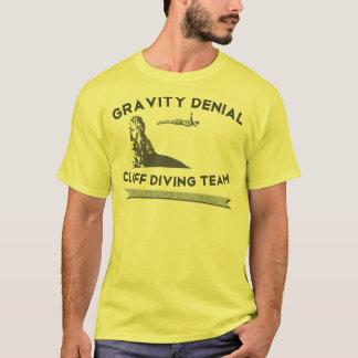 Equipe do mergulho do penhasco da recusa da camiseta